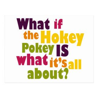 Hokey Pokey Postcard