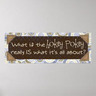 Hokey Pokey Print