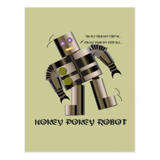 Hokey Pokey Robot Postcards