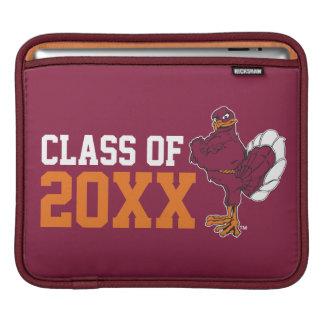 Hokie Bird Class Year iPad Sleeves