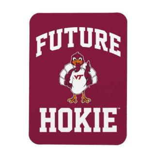 Hokie futuro imanes de vinilo