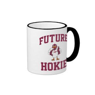 Hokie futuro taza a dos colores