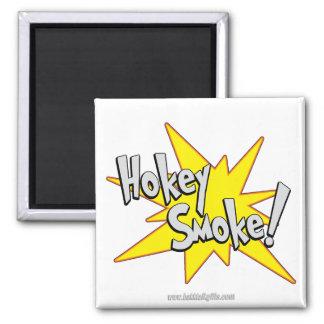 Hokie Smoke!... 2 Inch Square Magnet
