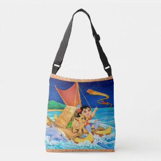 Hoku and Kolohe Pup Follow the Stars Crossbody Bag