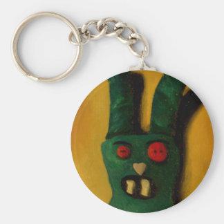 Hoku Zombie Bunny 1 Keychain