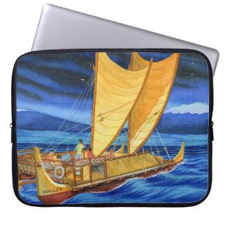Hokulea Voyaging Canoe Laptop Sleeve