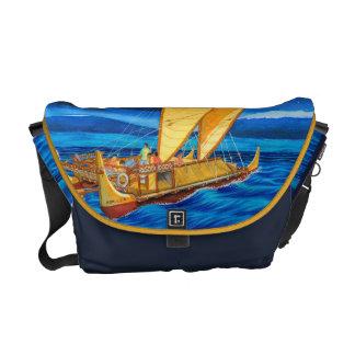 Hokulea Voyaging Canoe Messenger Bag