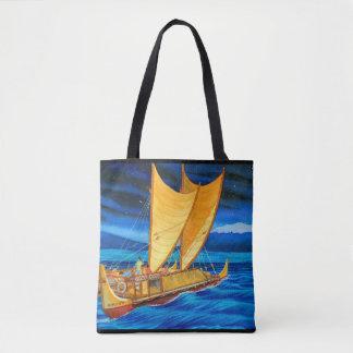 Hokulea Voyaging Canoe Tote Bag