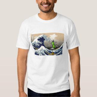 hokusai_1280-800, hopper-karatekid_TS Tee Shirt