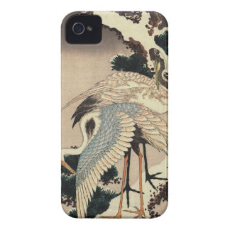 Hokusai 1760-1849 Cranes iPhone 4 Cover