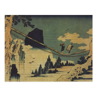 Hokusai Art painting Landscape Postcard