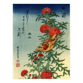 Hokusai Art Postcard