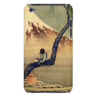 Hokusai Boy Viewing Mount Fuji Japanese Vintage iPod Touch Case-Mate Case