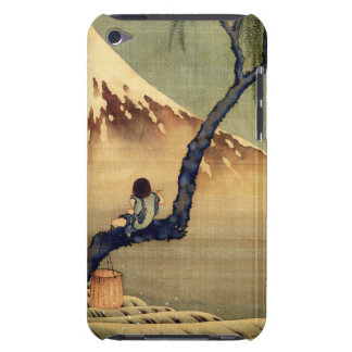 Hokusai Boy Viewing Mount Fuji Japanese Vintage iPod Touch Cover
