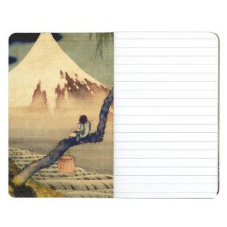 Hokusai Boy Viewing Mount Fuji Japanese Vintage Journal