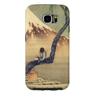 Hokusai Boy Viewing Mount Fuji Japanese Vintage Samsung Galaxy S6 Case