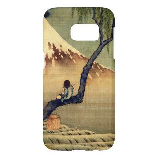 Hokusai Boy Viewing Mount Fuji Japanese Vintage Samsung Galaxy S7 Case