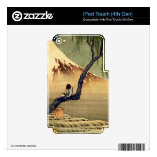 Hokusai Boy Viewing Mount Fuji Japanese Vintage iPod Touch 4G Skin