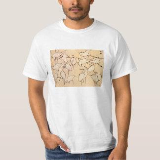 Hokusai Cranes T-shirt