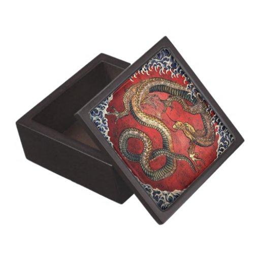 Hokusai Dragon - Giftbox B Premium Keepsake Box