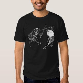 Hokusai duelers t shirts