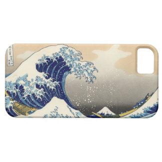 Hokusai el gran caso del iPhone 5 de la onda iPhone 5 Carcasas