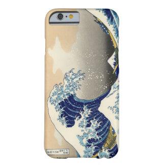 Hokusai el gran caso del iPhone 6 de la onda Funda Para iPhone 6 Barely There