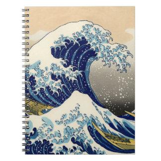 Hokusai el gran cuaderno de la onda