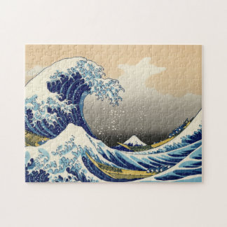 Hokusai el gran rompecabezas de la onda