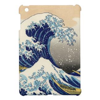 Hokusai el mini caso del gran iPad de la onda