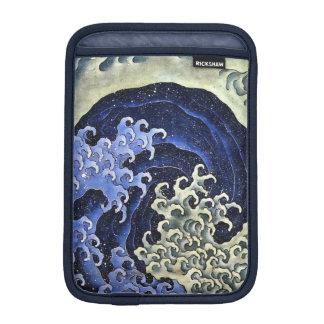 Hokusai Feminine Wave Japanese Vintage Fine Art Sleeve For iPad Mini