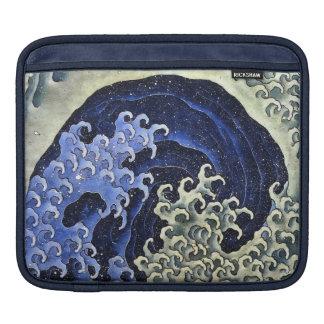 Hokusai Feminine Wave Japanese Vintage Fine Art Sleeve For iPads