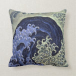 Hokusai Feminine Wave Pillow