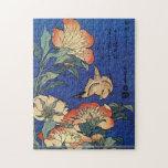 Hokusai - Flowers Puzzle