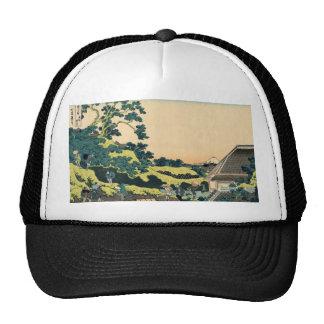 Hokusai: Fuji seen from the Mishima pass Hats