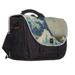Hokusai: Gran onda de Kanagawa Bolsas Para Portátil