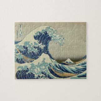 Hokusai Gran onda de Kanagawa Puzzle