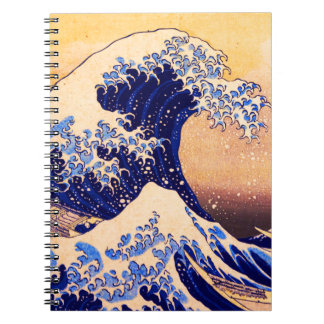 Hokusai great wave note book