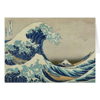 Hokusai: Great Wave Off Kanagawa Card