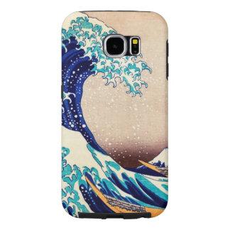 Hokusai Great Wave Off Kanagawa Samsung Galaxy S6 Cases