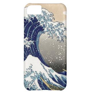 Hokusai Great Wave off Kanagawa Katsushika Tsunami Cover For iPhone 5C