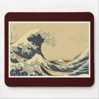 Hokusai Great Wave Off Kanagawa Mouse Pad