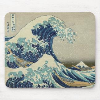 Hokusai: Great Wave Off Kanagawa Mouse Pads