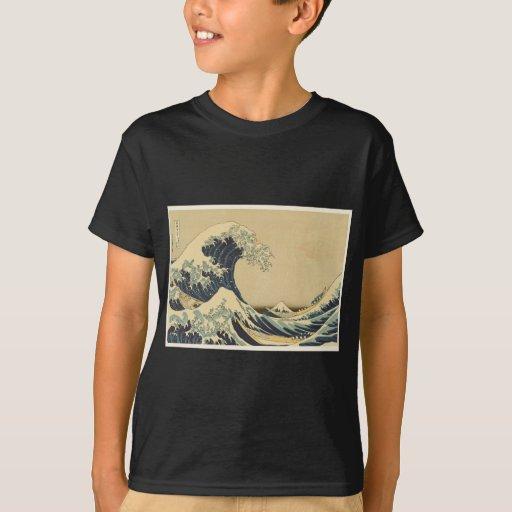Hokusai Great Wave Off Kanagawa T-Shirt