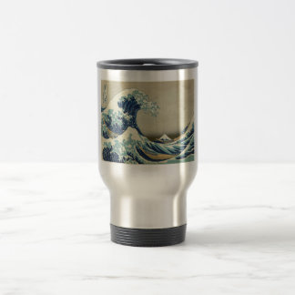 Hokusai: Great Wave Off Kanagawa Travel Mug