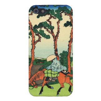 Hokusai Hodogaya en el caso del iPhone 5 de Tokaid iPhone 5 Carcasa