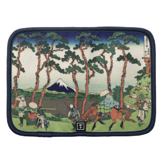 Hokusai Hodogaya en el Tokaido el monte Fuji Kyoto Planificador