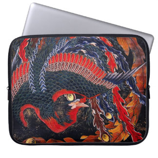 Hokusai Japanese Phoenix Laptop Sleeve