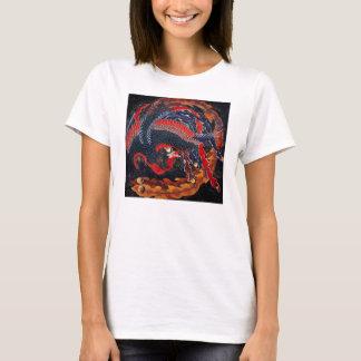 Hokusai Japanese Phoenix T-shirt