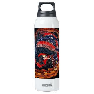Hokusai Japanese Phoenix Thermos Bottle